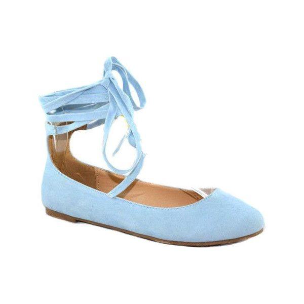 light blue ballerina sko on sale b7956