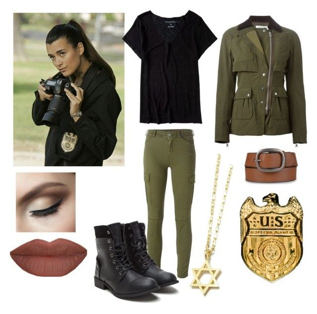 Cote De Pablo aka Ziva David NCIS by cspink-cs on Polyvore featuring Aéropostale, Altuzarra, 7 For All Mankind, Journee Collection, Derriére and Co|te