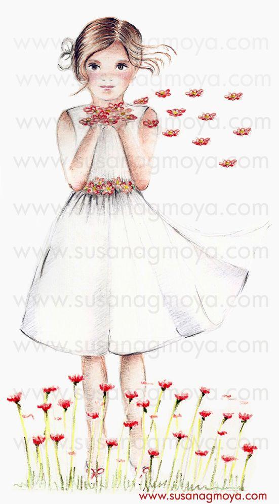 7cc6e26e56ddc Dibujo a lápiz para Recordatorios de Comunión y cuadritos infantiles.   ilustración  lápices  decoración  arte  cuadroinfantil   recordatoriosdecomunión ...