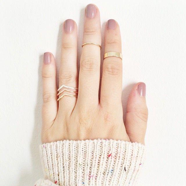 57cdecc4d LC Lauren Conrad for Kohl's Stacking Rings | jewelry. | Lauren ...