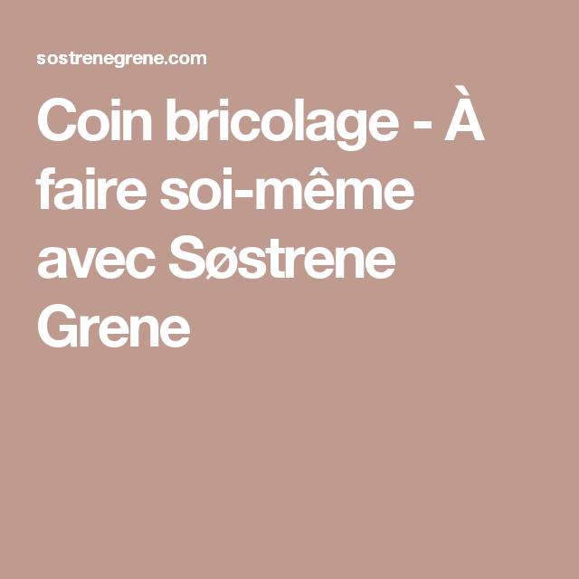 Coin bricolage - À faire soi-même avec Søstrene Grene