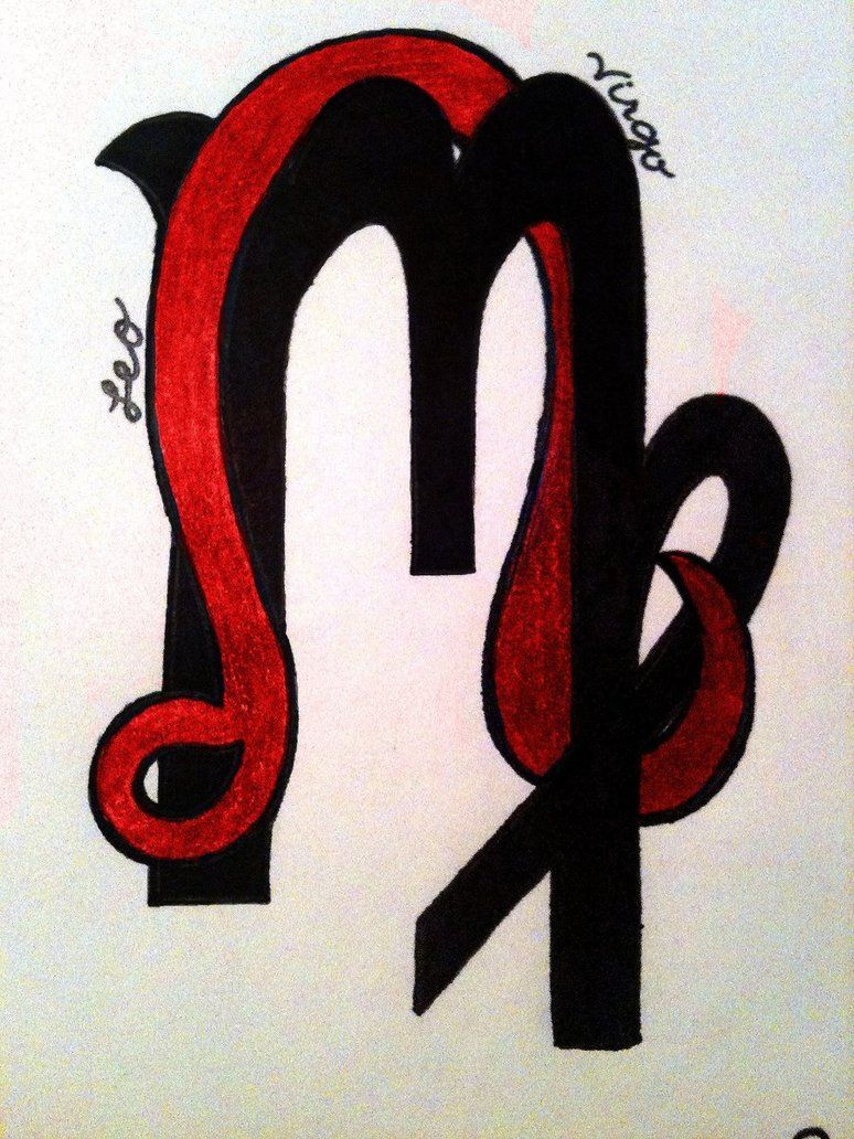 30 of the best virgo tattoo designs tattoo easily - Leo And Virgo Google Search
