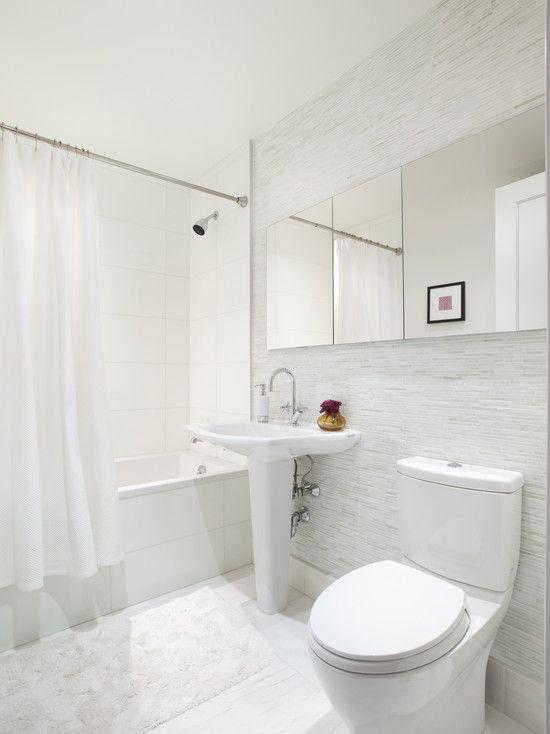 Mirrors Small White Bathrooms Bathroom Design Trends White Bathroom Small white bathroom design ideas
