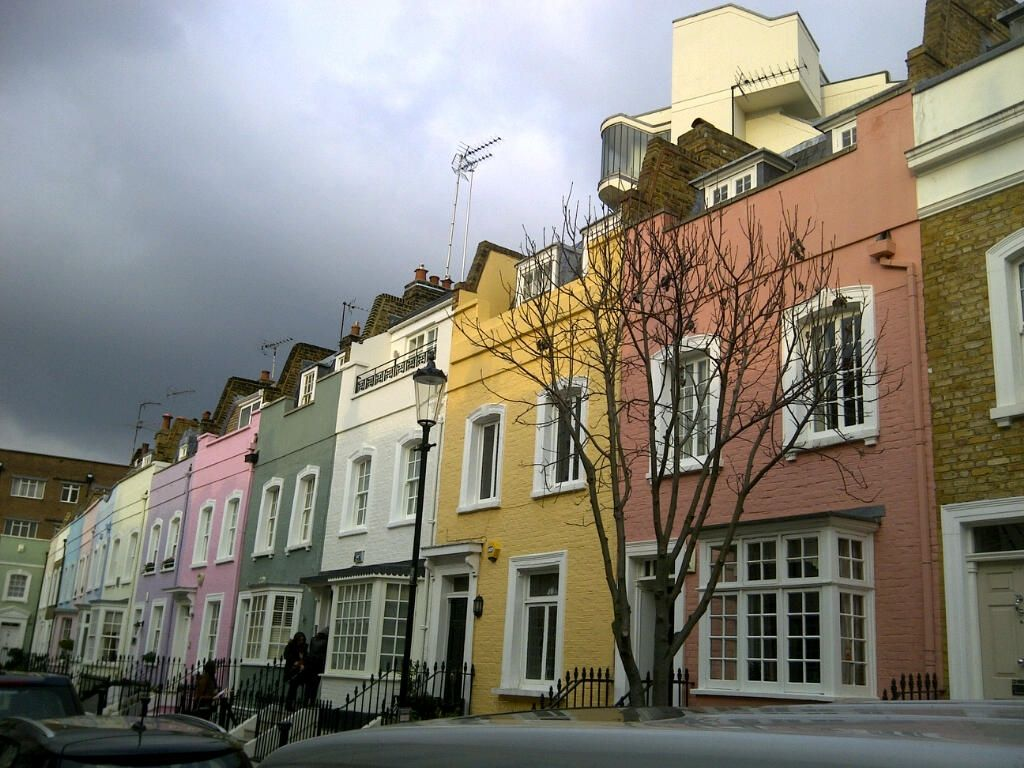 Chelsea terraced townhouses | Townhouse, Favorite places ...