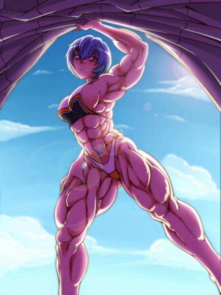 Anime Muscle Girl Anime Muscle Girls Comics Girls