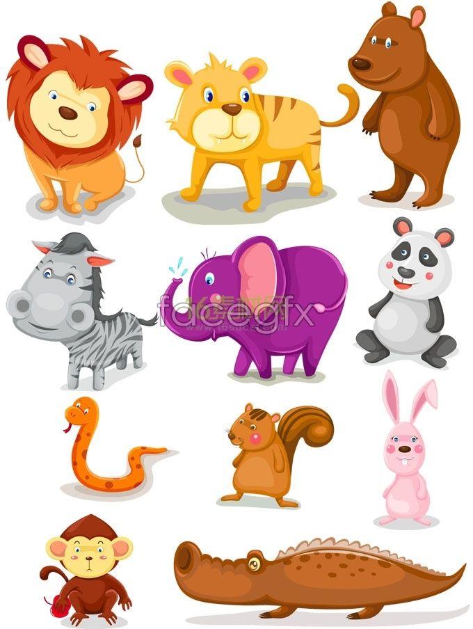 Cartoon Animal Images Cute Cartoon Animals Animals Wild Cartoon Animals