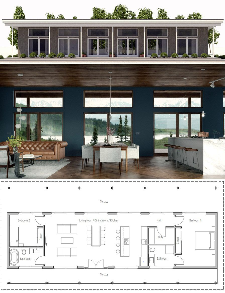 Home plan single story house homeplans houseplans floorplans newhome also rh pinterest