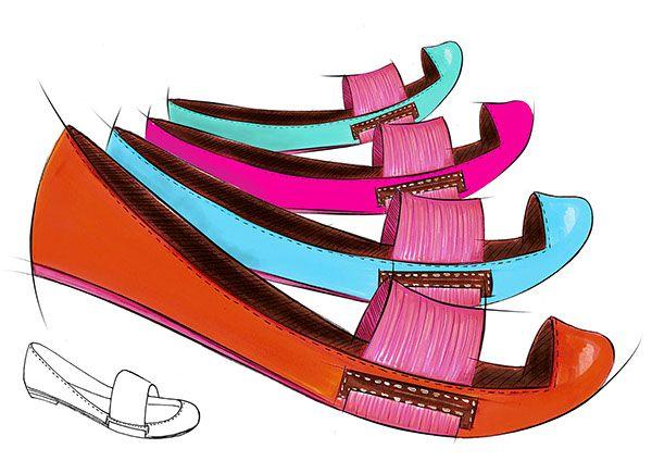Curso de calçados, parceria entre UNESP e FATEC on Behance