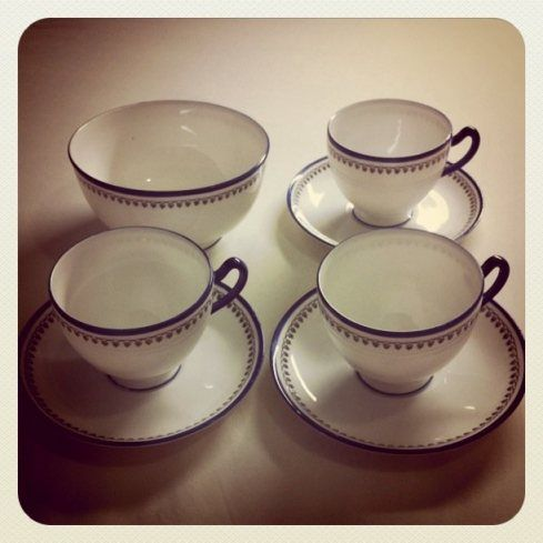 Lovely tea set bought from a charity shop.