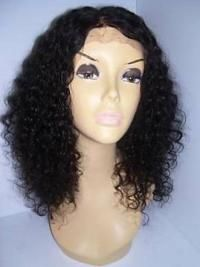 cheapest brown curly shoulder length classic wigs real