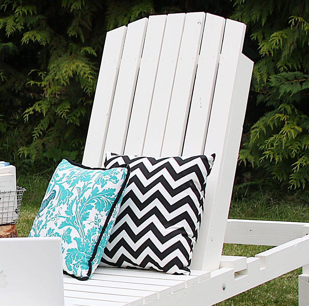 Ana White Build A 35 Wood Chaise Lounges Free And