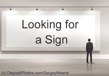 Image result for looking for a sign