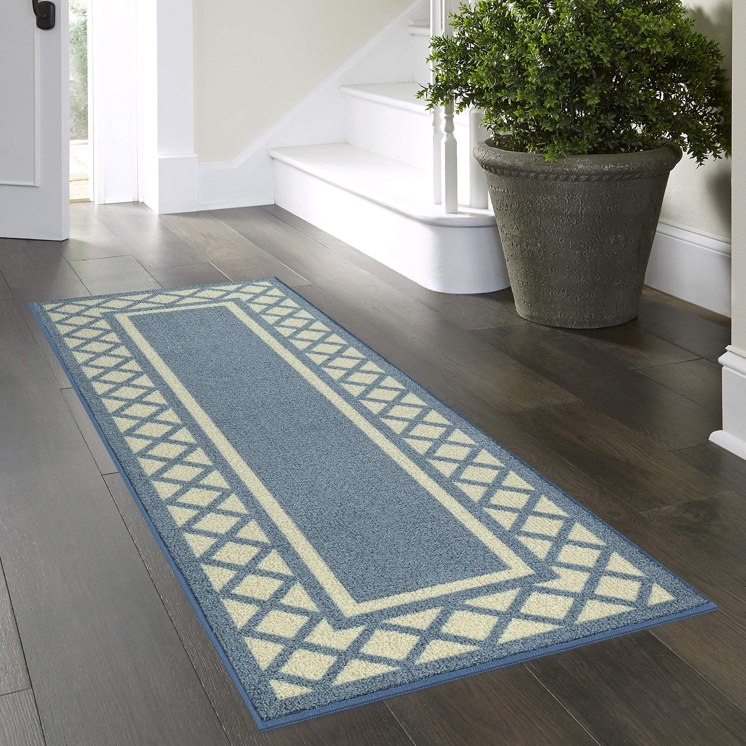 Maples Rugs Bella 2 X 6 Non Skid Hallway Entry Rugs Runners Made