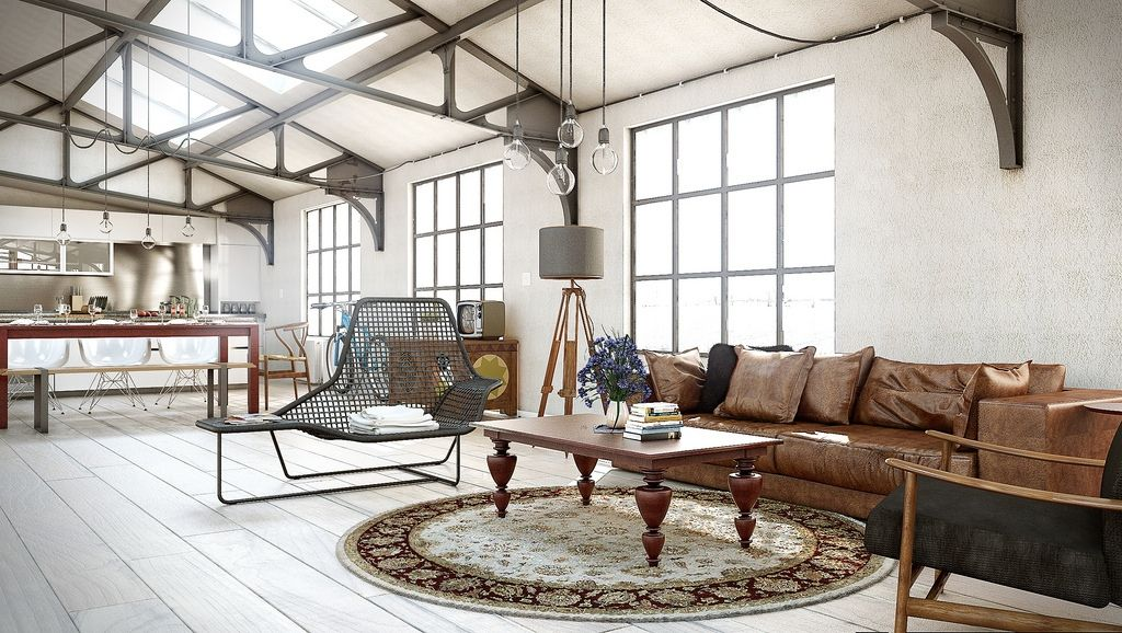 25 Amazing Industrial Living Design Industrial Industrial
