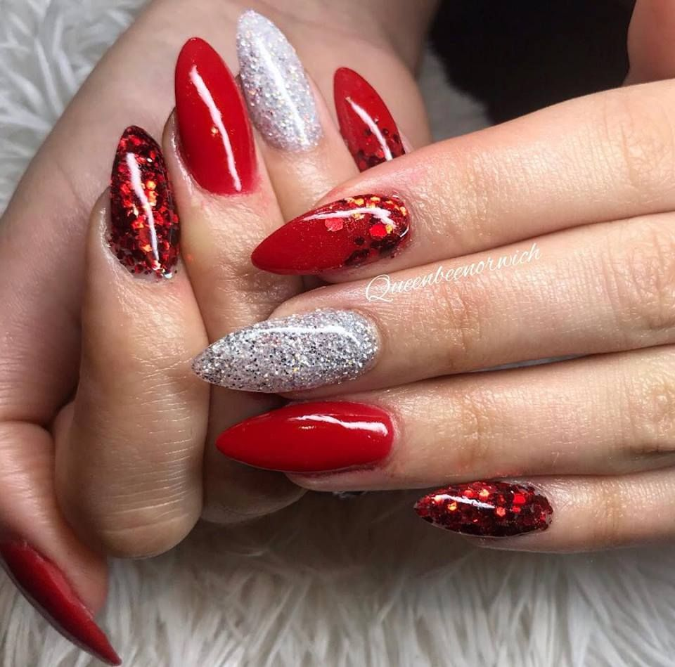 Christmas Nails Nexgen: Christmas Nails Using All Nexgen Products And Christmas