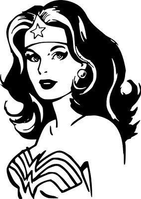 Wonder Woman DC Comics Car Truck Wall Laptop Window Vinyl Sticker Decal | eBay