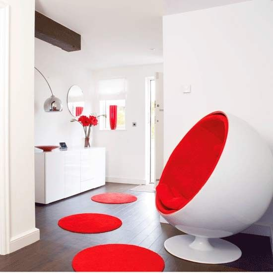 flur diele wohnideen m bel dekoration decoration living idea interiors home corridor retro. Black Bedroom Furniture Sets. Home Design Ideas