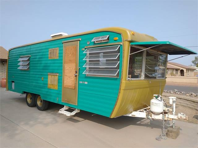 1969 KenCraft Vintage Travel Trailer24ftApproximately 4k