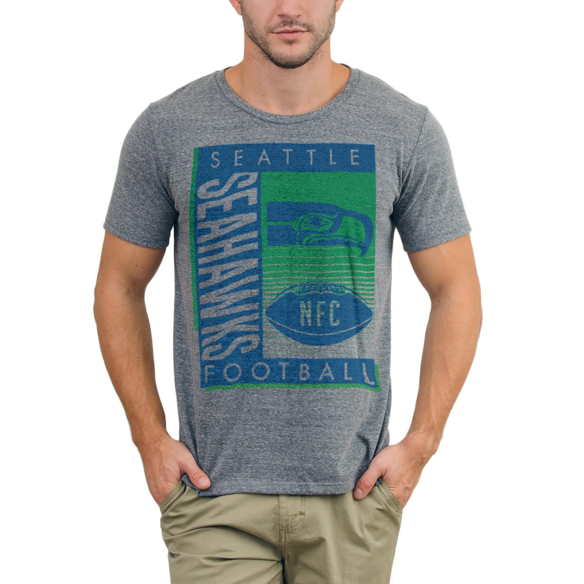NFL Seattle Seahawks Junk Food Touchdown TriBlend TShirt