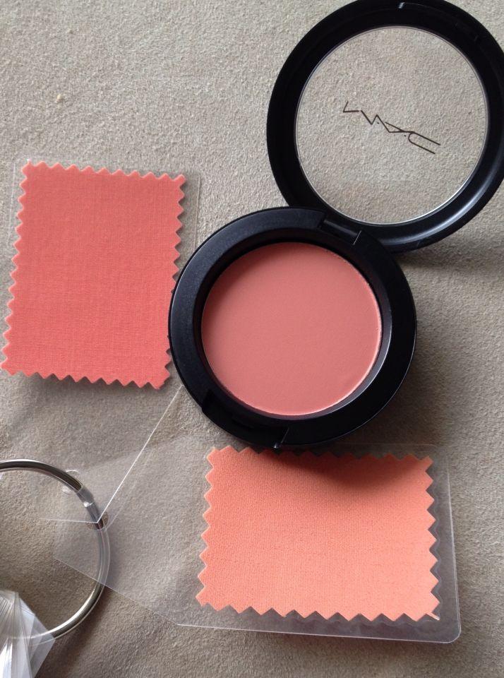 Peaches blush Mac Makeup collection goals, Makeup kit