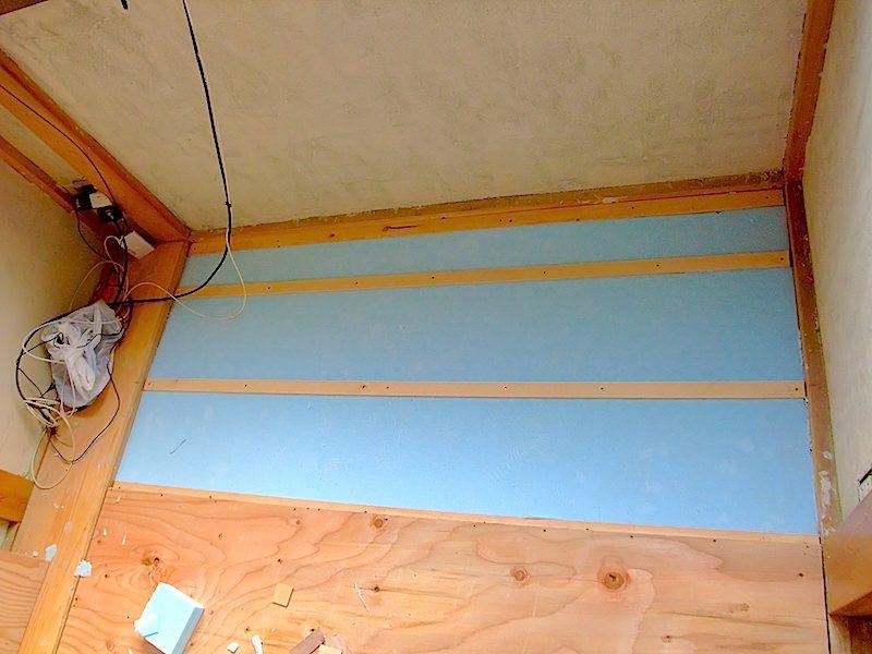 和室リノベーションdiyで畳からフローリングにする方法 下地編