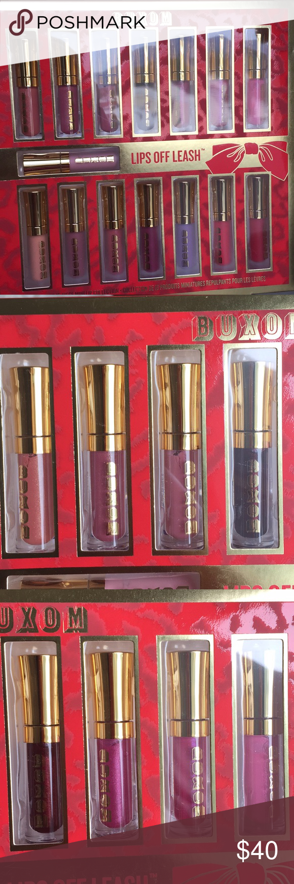 Lips Off Leash Plumping 15-piece Mini Lip Collection by Buxom #3