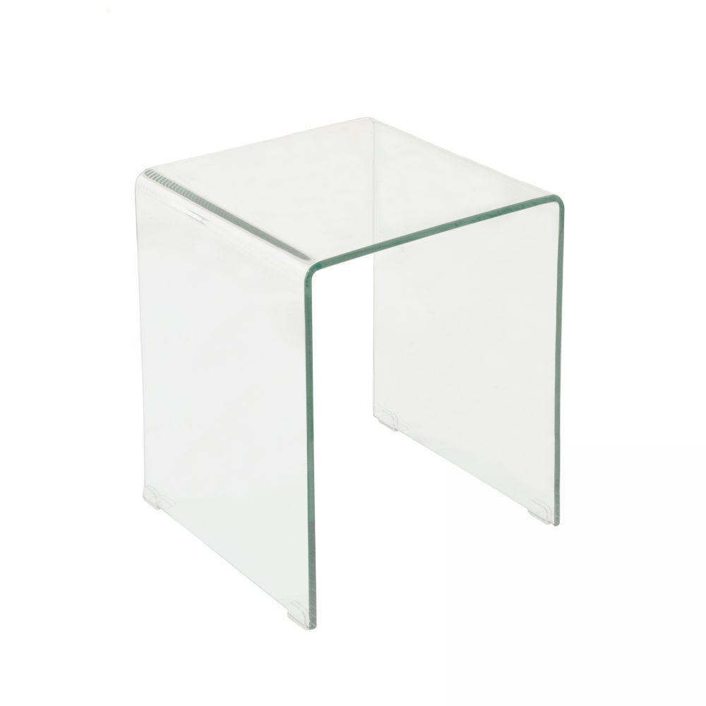 Lenox Glass End Table | I.O. Metor - I.O. Metro Furniture, Art ...