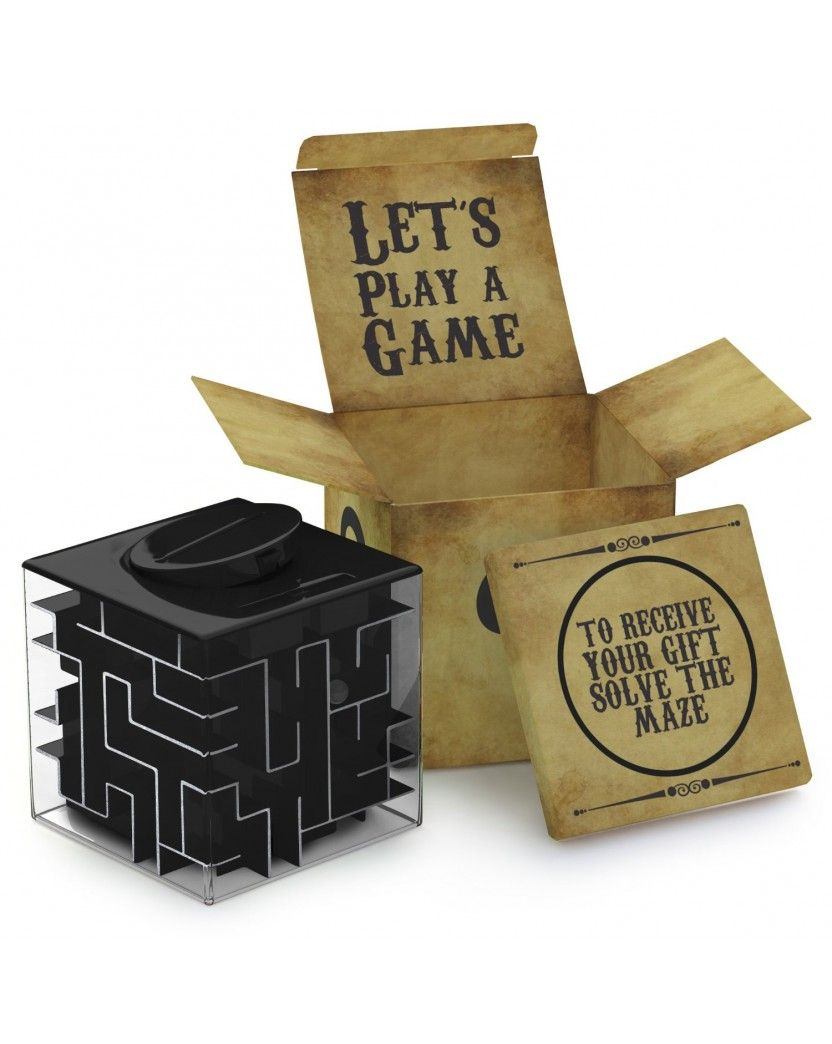 Money Maze Puzzle Box Fun And Inexpensive Last Minute Gift