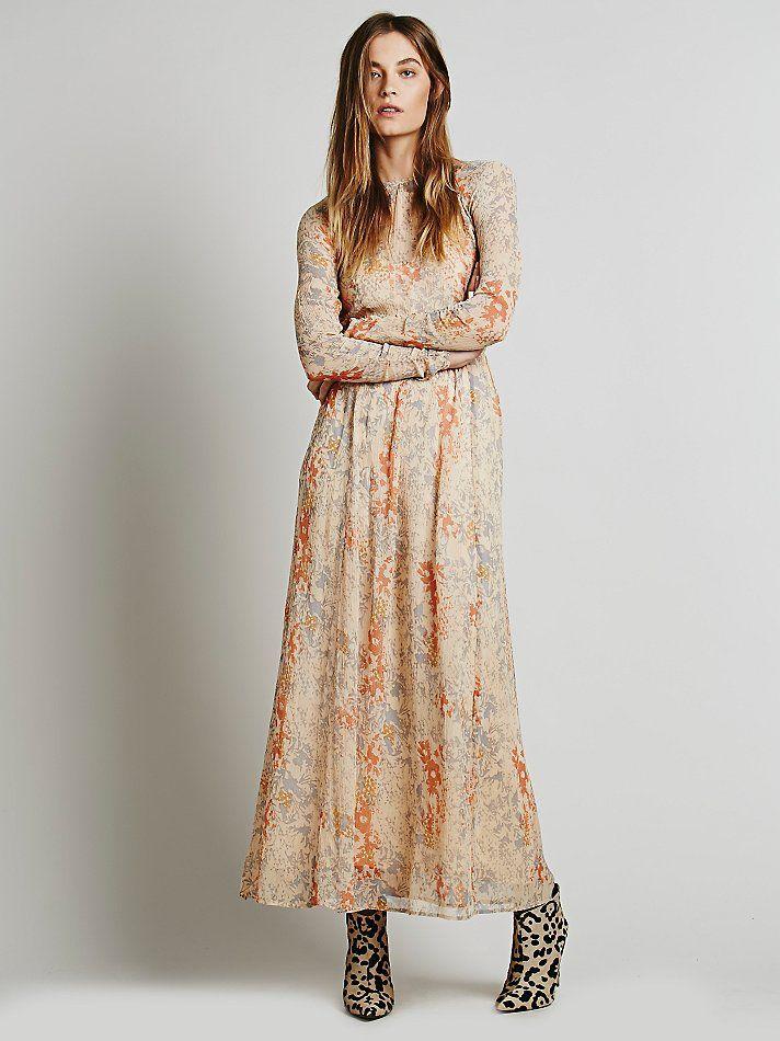 Free People Slip Beyond Maxi Dress Maxi Dress Tale Dress Style Maxi Dress