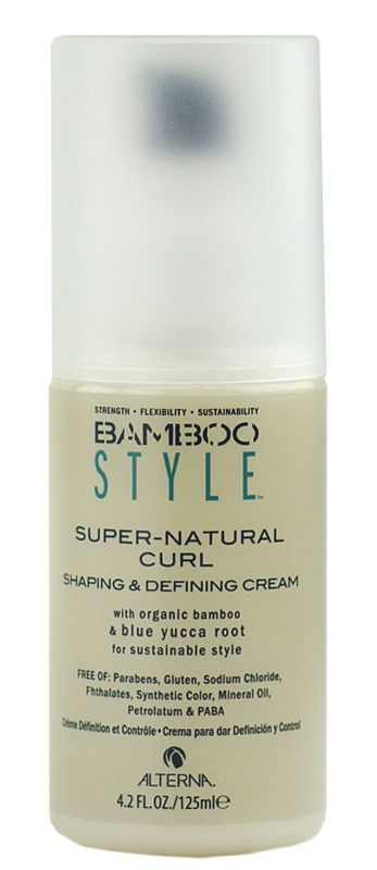 Alterna Bamboo Style Super Natural Curl Shaping Defining Cream Natural Curls Super Natural Alterna