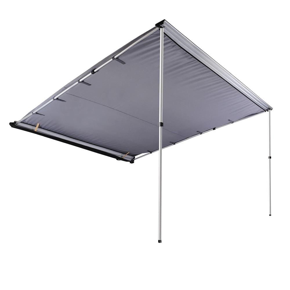 Thelashop 7 8 X 8 2 Car Side Retractable Awning Rooftop Shade Beige Gray Shade Tent Roof Top Tent Tent