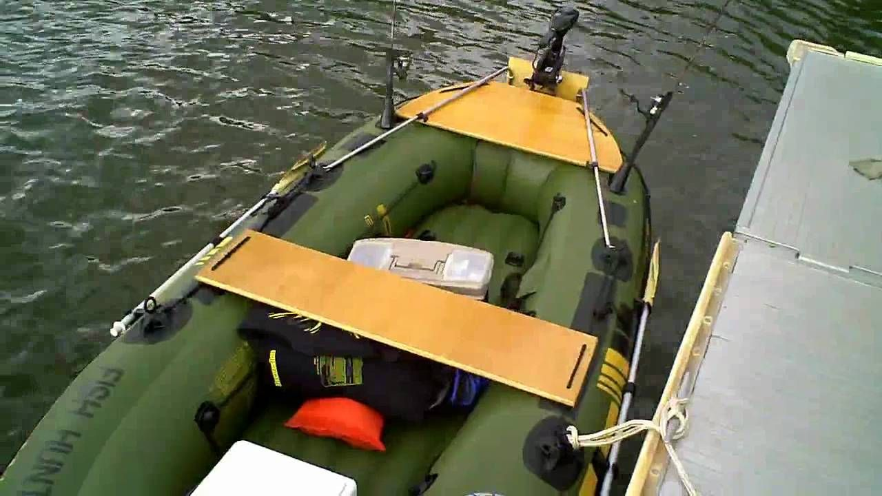 Sevylor Fish Hunter 360 Customized Boating Inflatable