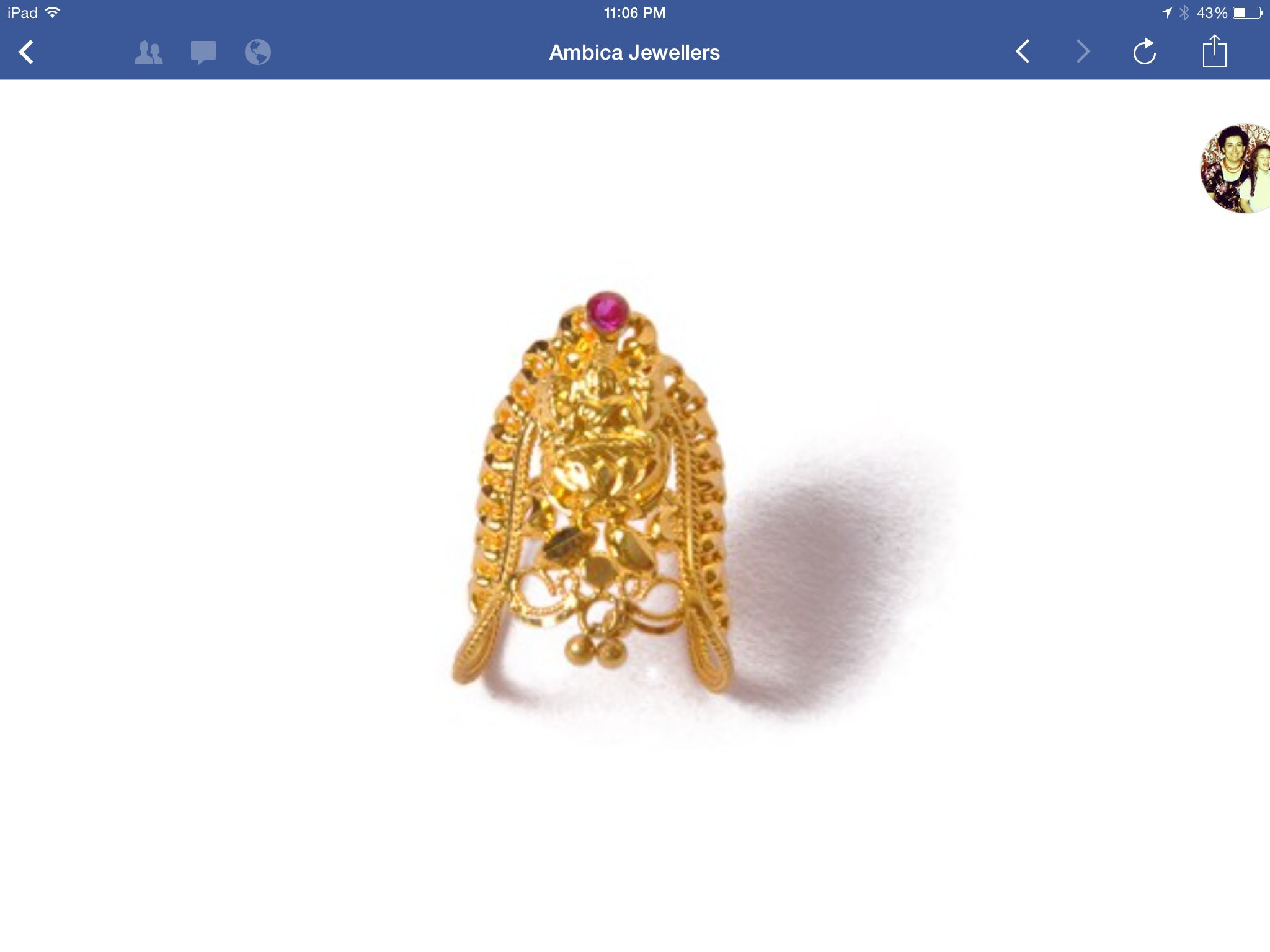 From http://www.ambicajewellers.in/ | Gold baby! | Pinterest | Gold
