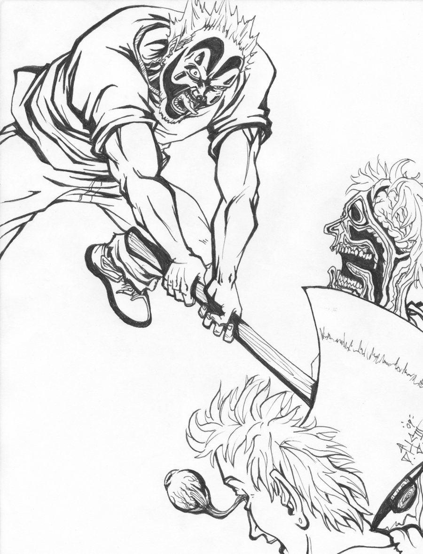 insane clown posse coloring pages - photo#11