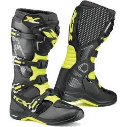 Photo of Tcx X-Helium Michelin Offroad Motorcycle Boots Black Yellow 45 Tcxtcx