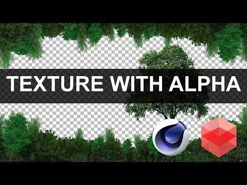 Import textures with alpha channel in REDSHIFT [CINEMA4D TUTORIAL