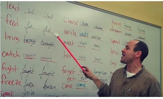 Apprendre Les Verbes Irreguliers Anglais En S Amusant Verbes Irreguliers Anglais Apprendre L Anglais Verbes Irreguliers