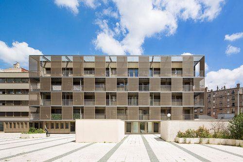 Rehabilitation of the shell of a social housing building - Atelier Du Pont