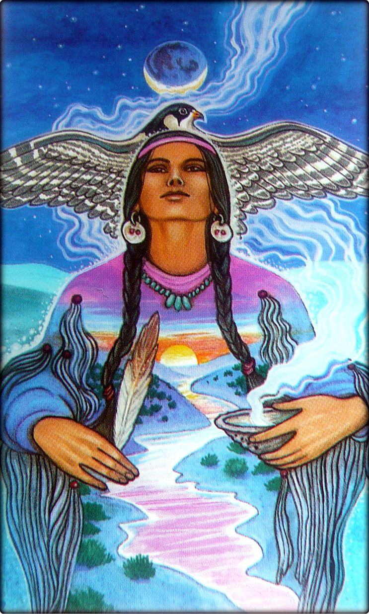 Medicine Woman Tarot By Carol Bridges: Mulher Medicina - Medicine Woman...