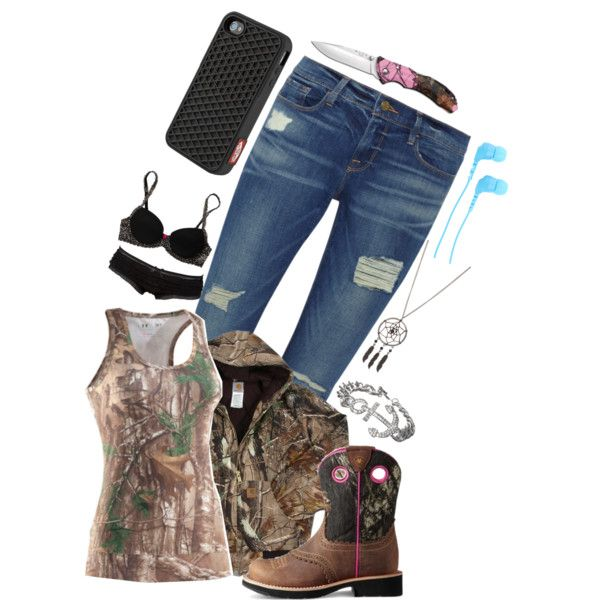 """""""Won't be on much going to the woods today"""" by ieatsoulsforlunch on Polyvore"""