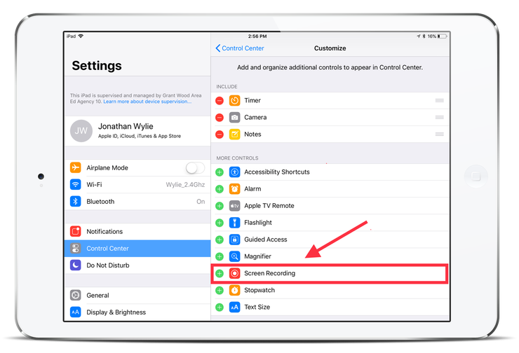 How to Record Your iPad Screen in iOS 11 Ios 11, Ipad