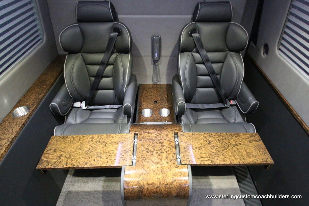 Luxury Custom 11 Passenger Mercedes Benz Sprinter Vans For Sale