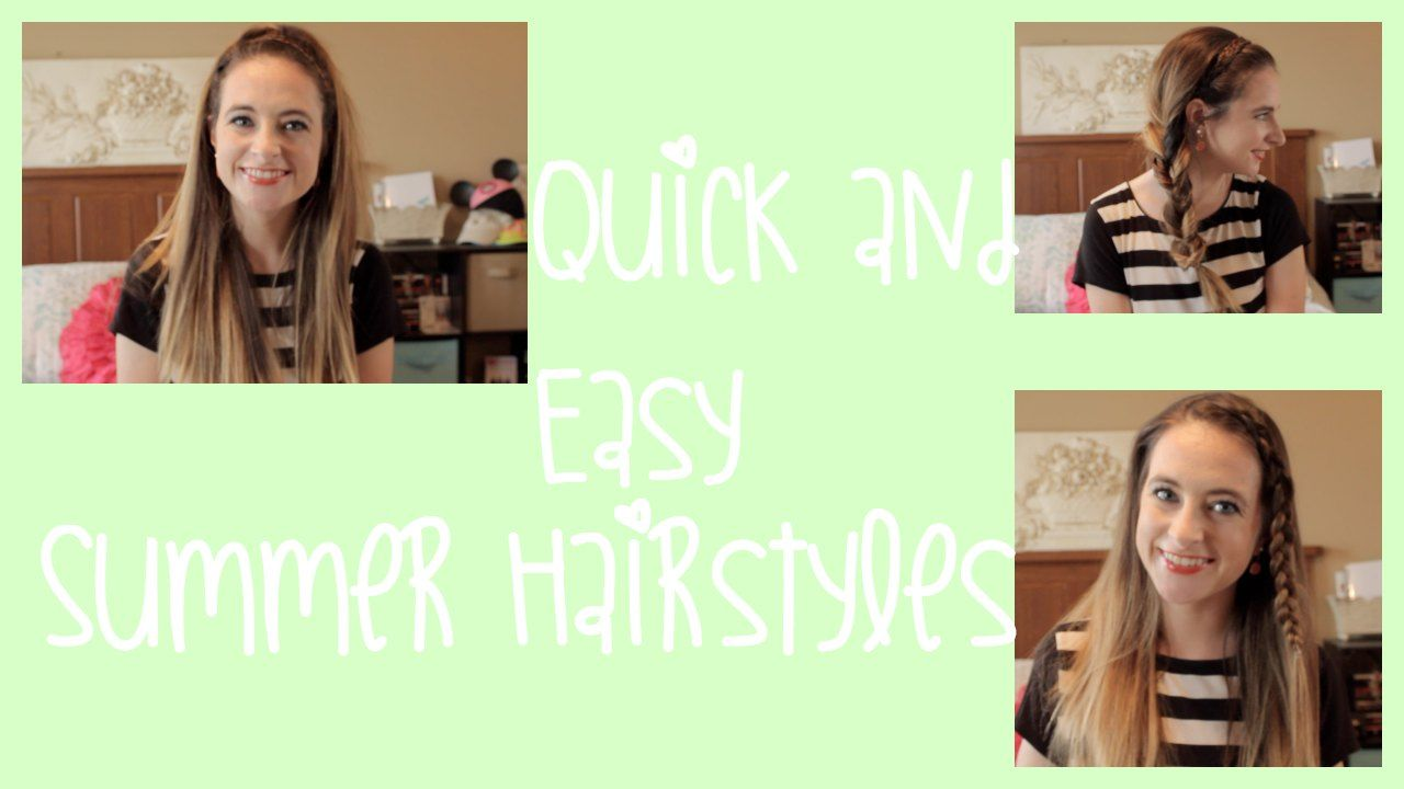 Bows for Justine: 3 Quick and Easy Summer Hairstyles | Video