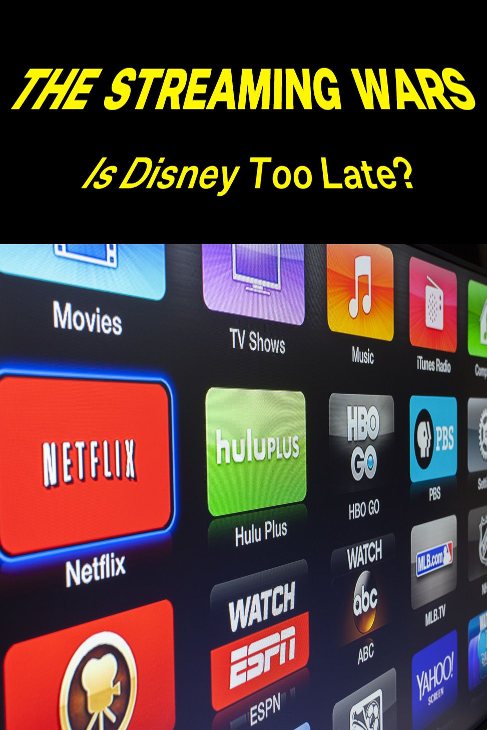Is Disney's entry into digital streaming too late to pose a threat to the big players? #Disney #DisneyPlus #Netflix #Hulu #AmazonPrime #AmazonPrimeVideo #SVOD #Streaming #Marketing #Strategy #entertainment #TV #business #competitors #GLOBIS #Japan #JapaneseMarket