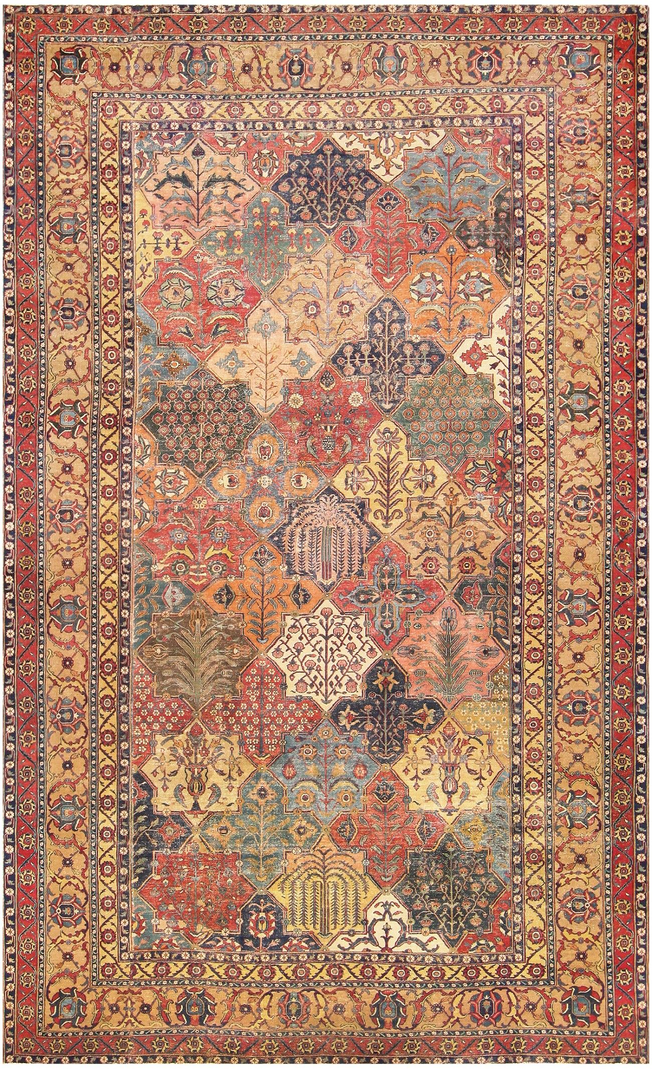 17th Century Persian Khorassan Carpet From William A Clark 47074 Rugs On Carpet Rugs Persian Carpet