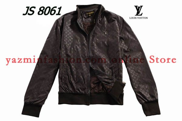 b713f48ed949 Coffee monogram leather Louis Vuitton jackets