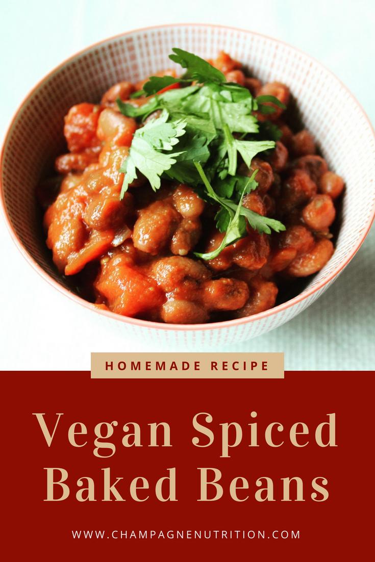 Vegan Spiced Baked Beans