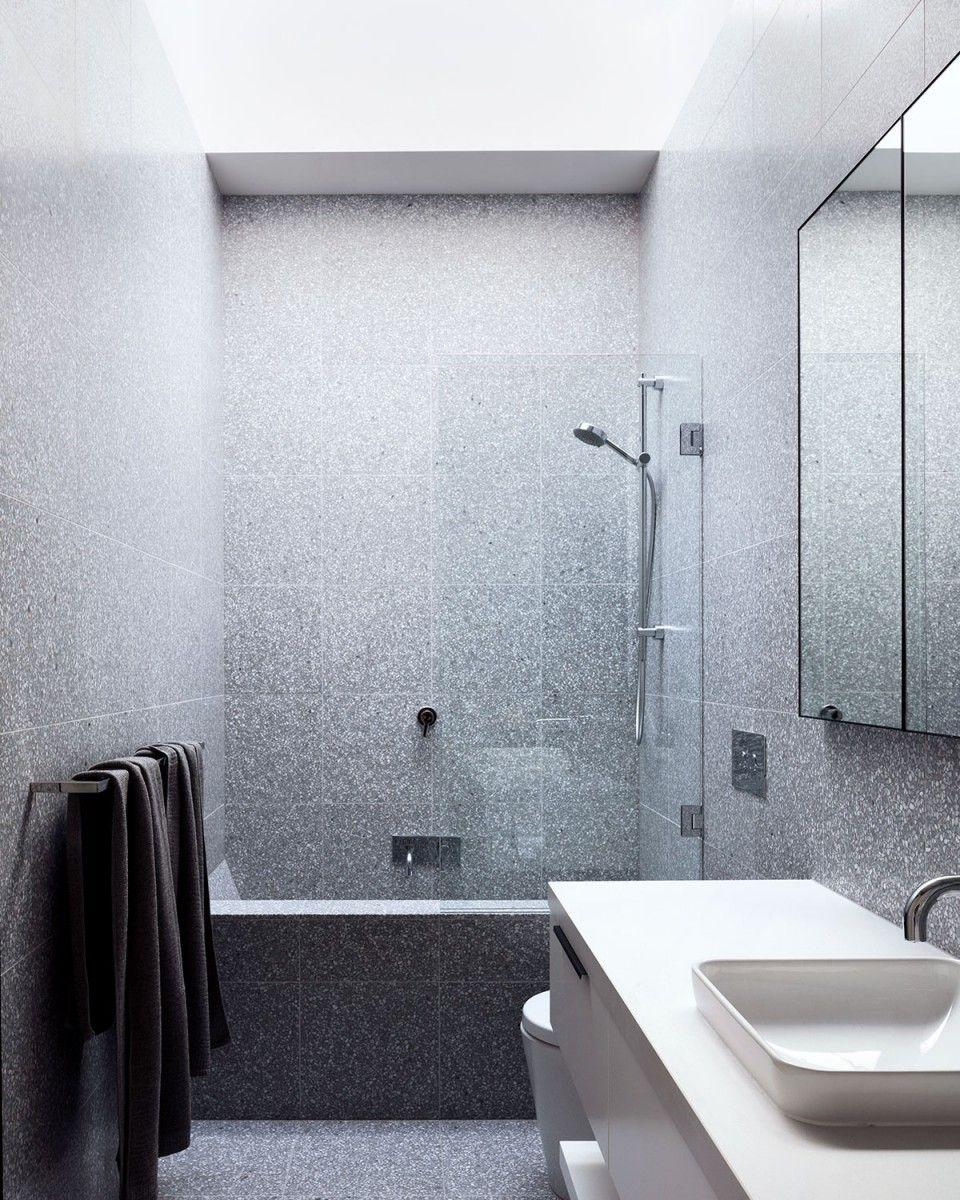 Signorino\'s Italian Terrazzo tiles from floor to ceiling - including ...
