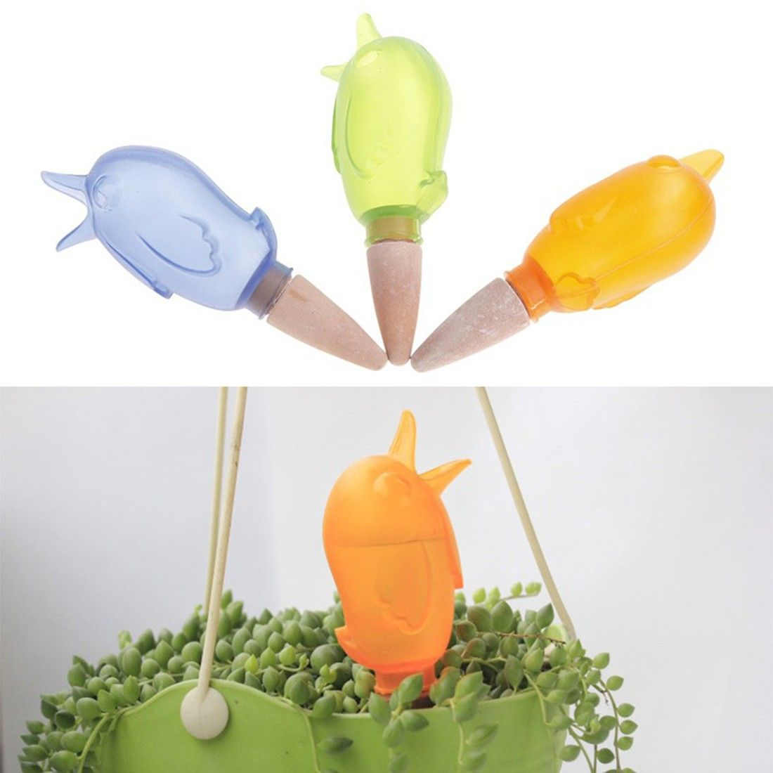Useful Cute Lovely Birds Shape Indoor Automatic Drip 400 x 300