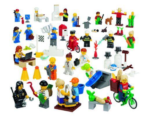 Lego Education Community Minifigures Set 779348 256 Pieces 4549